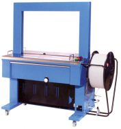 Arch strapping machines