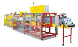 Automatic seal/shrink machines